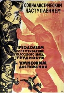 "Propaganda directed against ""class enemies"""
